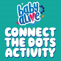 Baby Alive Connect the Dots Activity