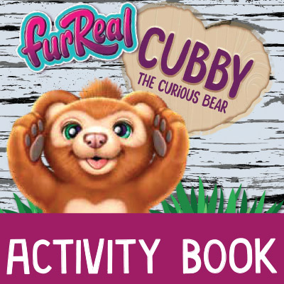 Furreal CUBBY Activity Book