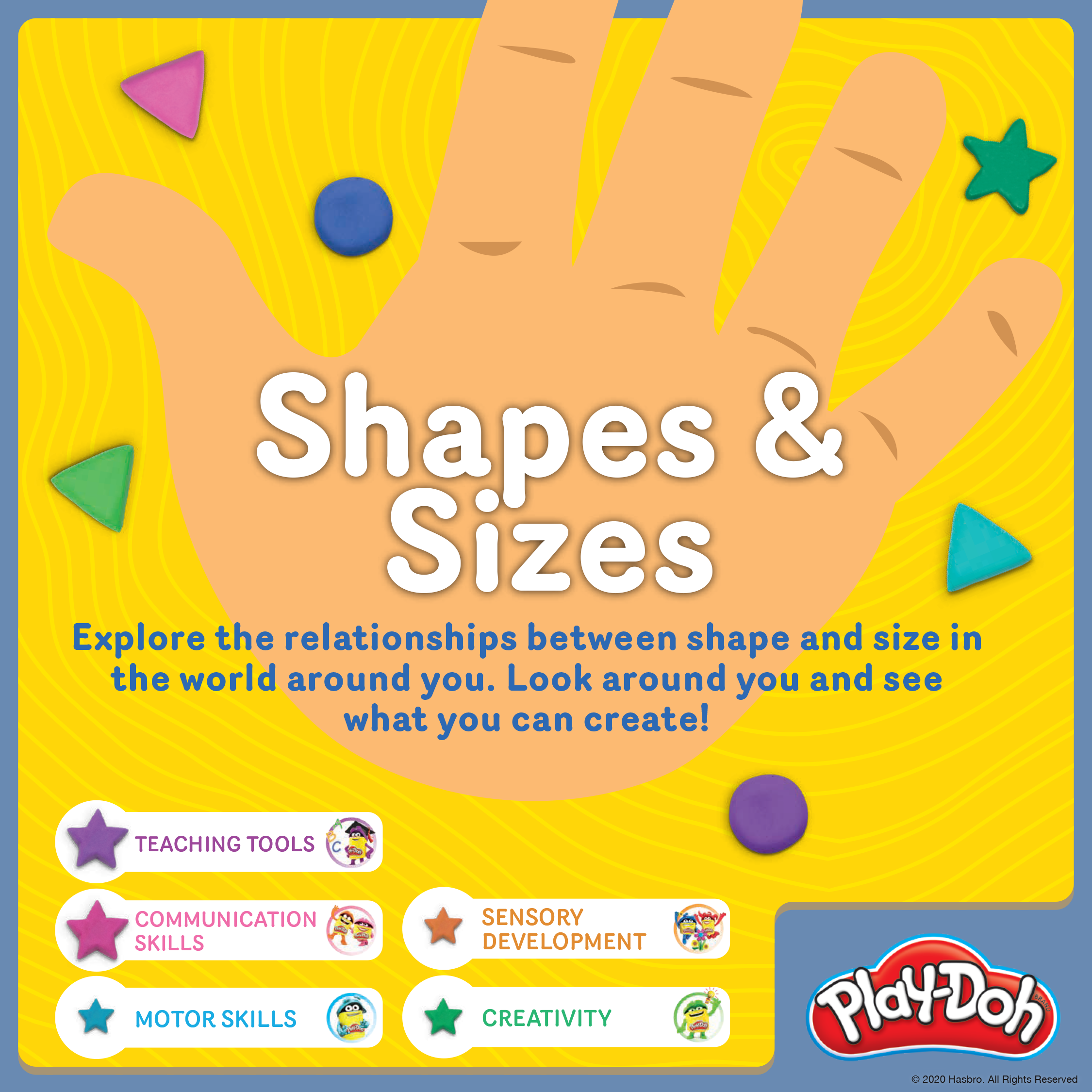Play-Doh Shapes & Sizes
