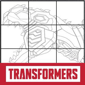 Transformers Zeichne Grimlock