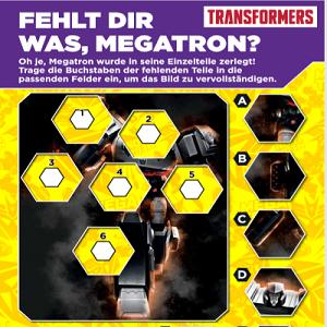 Transformers Megatron Puzzle