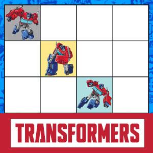 Transformers Optimus Prime Sudoku