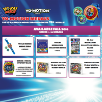 YO-KAI WATCH MODEL ZERO RECOGNISES 75+ YO-MOTION MEDALS!