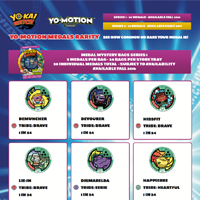 SEE HOW COMMON OF RARE YOUR YO-MOTION MEDAL IS!