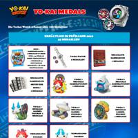 Die Yo-kai Watch erkennt über 100 Medaillen!