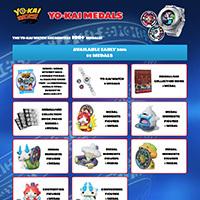 Lo Yo-kai Watch riconosce più di 100 medaglie!