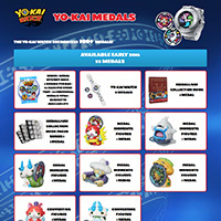 The Yo-kai Watch recognises 100+ Medals!