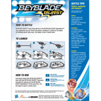 BEYBLADE BURST How to Battle