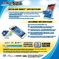 Beyblade Burst Scanning Instructions