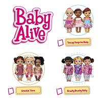 Baby Alive 2015 Checklist