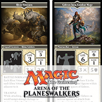 Magic: Planeswalkers Squad Cards