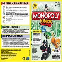 Monopoly Junior Spielanleitung