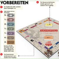 Monopoly 80 Jahre Spielanleitung