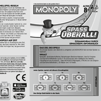 Monopoly Grab & Go Spielanleitung