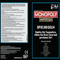 Monopoly Imperium Spielanleitung