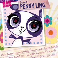 Littlest Pet Shop Totally Talented Penny Activity