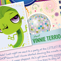 Littlest Pet Shop Totally Talented Vinnie Activity