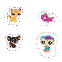 LITTLEST PET SHOP Door Hanger