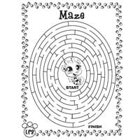 LITTLEST PET SHOP Maze