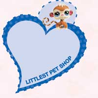 LITTLEST PET SHOP Heart Tags
