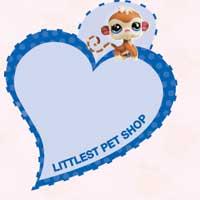 LITTLEST PET SHOP Heart Tags