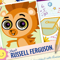 Littlest Pet Shop Totally Talented Russell Activity