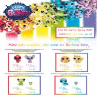Littlest Pet Shop Rarity Spring 2017