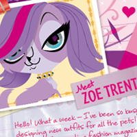 Littlest Pet Shop Totally Talented Zoe Activity