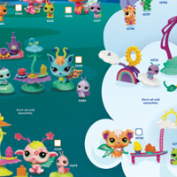 Littlest Pet Shop Fairies Collection Poster