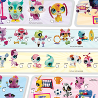 Littlest Pet Shop Totally Talented Collection Poster