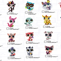 Littlest Pet Shop Micro Cross Sell Fall - Pet Singles