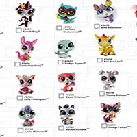 Littlest Pet Shop Micro Cross Sell Fall - Pet Singles