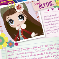 Littlest Pet Shop Totally Talented Blythe Activity