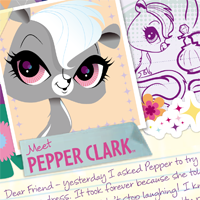 Littlest Pet Shop Totally Talented Pepper Activity