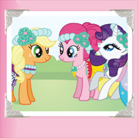 My Little Pony Collector Poster - Castle Wedding