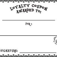 Activity: Loyalty Coupon