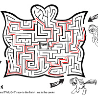 Activity: Pony Maze