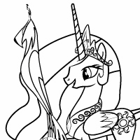 Coloring Page: A Bird in the Hoof