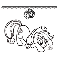 Episode 1 - Mare in the Moon Coloring Pages