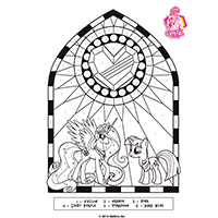 MLP - Crystal Empire - Printable3