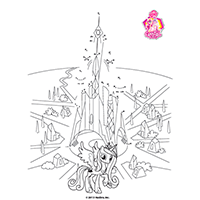 MLP - Crystal Empire - Printable4