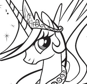 Activity - Princess Celestia Connect The Dots