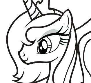 MY LITTLE PONY Fluttershy Colouring Book Download Coloring Page