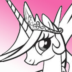 MY LITTLE PONY PRINCESS CELESTIA - Points à relier