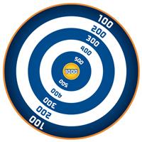 NERF Target Circles Printable