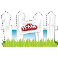 PLAY-DOH Picket Fence Activity