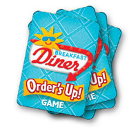 PLAY-DOH Orders Up Matching Card Game Activity