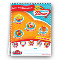 PLAY-DOH Breakfast Order Pad Activity
