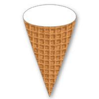 PLAY DOH Ice Cream Shoppe Waffle Cone Activity