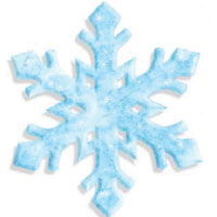 PLAY-DOH Snowflake Activity